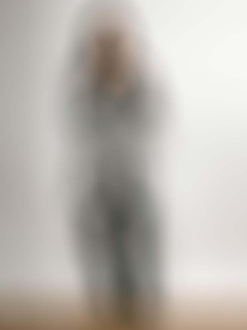 Φόρμα κρεπ ελληνικής ραφής κρουαζέ με ζώνη φούξια